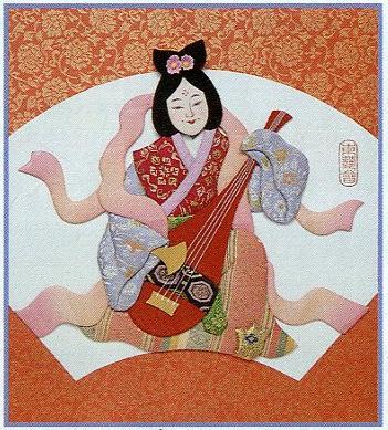 東芸押し絵キット H8849「寿七福神・弁財天」
