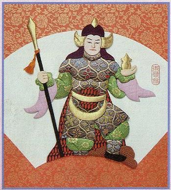 東芸押し絵キット H8850「寿七福神・毘沙門天」