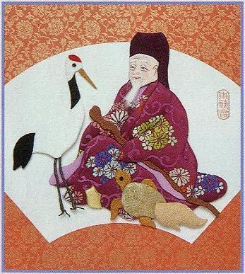 東芸押し絵キット H8851「寿七福神・福禄寿」