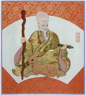 東芸押し絵キット H8852「寿七福神・寿老人」