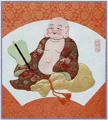 東芸押し絵キット H8853「寿七福神・布袋」