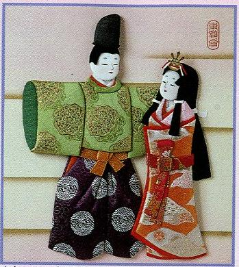 東芸押し絵キット H8855「立ちひな・若宮」