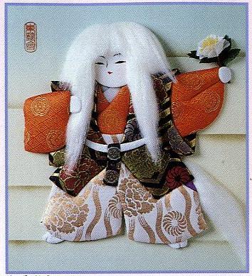 東芸押し絵キット H8895「白獅子」