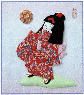 東芸押し絵キット H8919「花てまり」