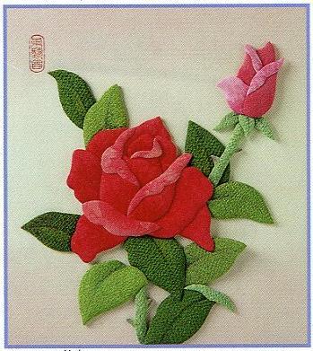 東芸押し絵キット H8921「ばらの花」