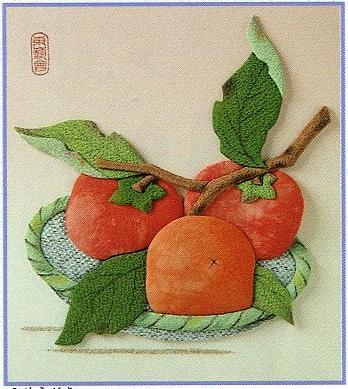 東芸押し絵キット H8922「富有柿」