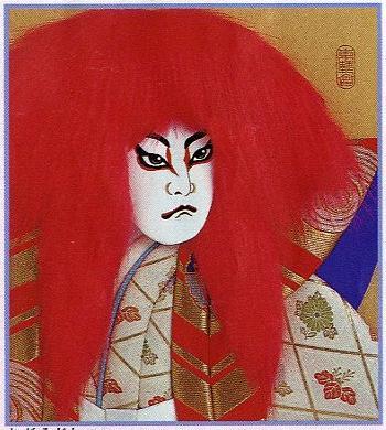 東芸押し絵キット K8826「鏡獅子(赤)」