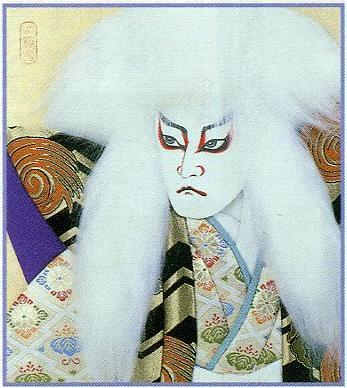 東芸押し絵キット K8827「鏡獅子」(白)