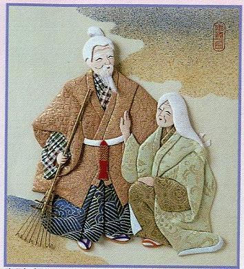 東芸押し絵キット K8856「高砂」
