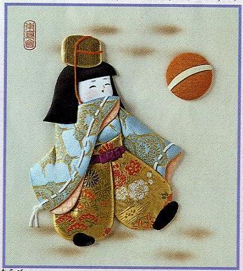 東芸押し絵キット K8887「童けまり」