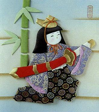 東芸押し絵キット K8888「尚武の太刀」