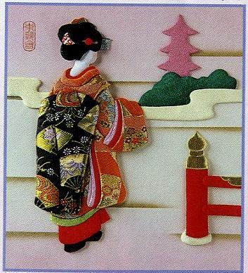 東芸押し絵キット K8889「京の春」