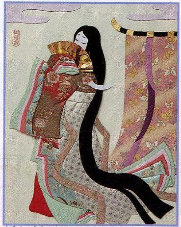 東芸押し絵キット K8917「王朝絵巻」(6号)