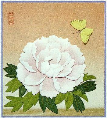 東芸押し絵キット S8845「牡丹」