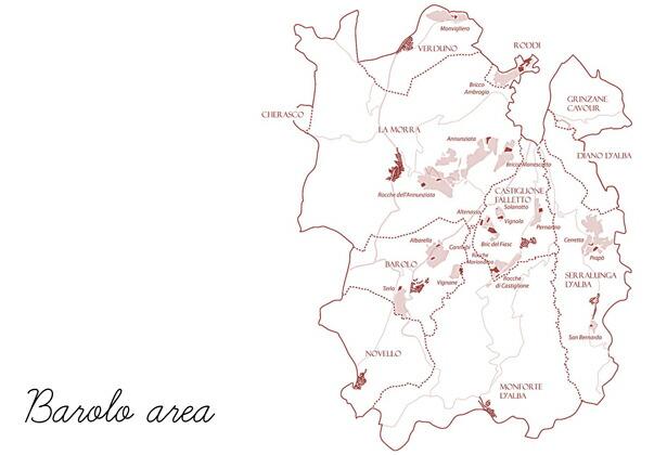 バローロ地図