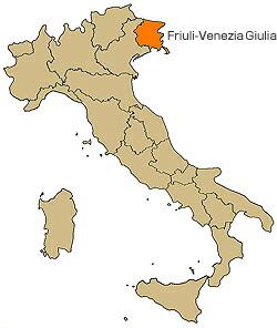 フリウリヴェネチアジュリア  Friuli-Venezia Giulia
