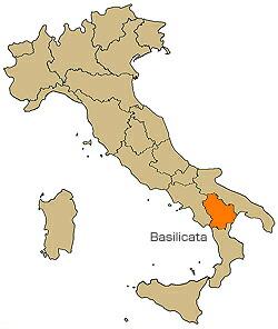 バジリカータ  Basilicata