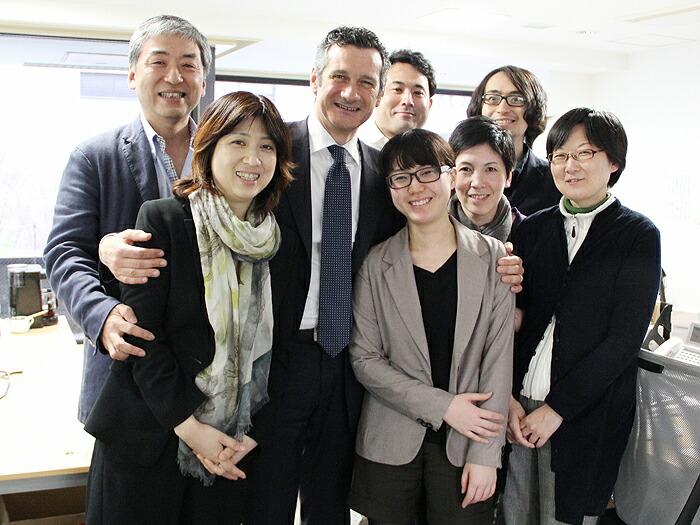 ウマニ ロンキとの記念撮影