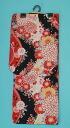 -Great deals! 2,000 Yen-yukata black x White x red (cherry blossom and chrysanthemum) yukata yukata summer kimono dressing Festival Fireworks competition Bon kimono retro Taisho Roman non-fs3gm