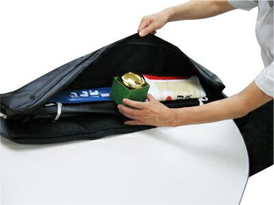 ポールと扁平国旗玉と収納バッグのお買い得セット