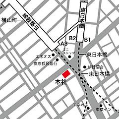 トスパショップ所在地地図
