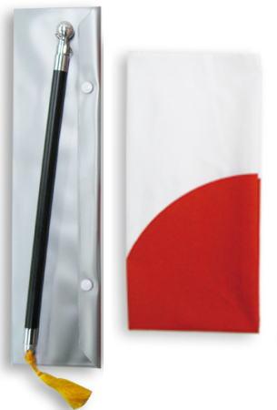 伸縮式旗ポール