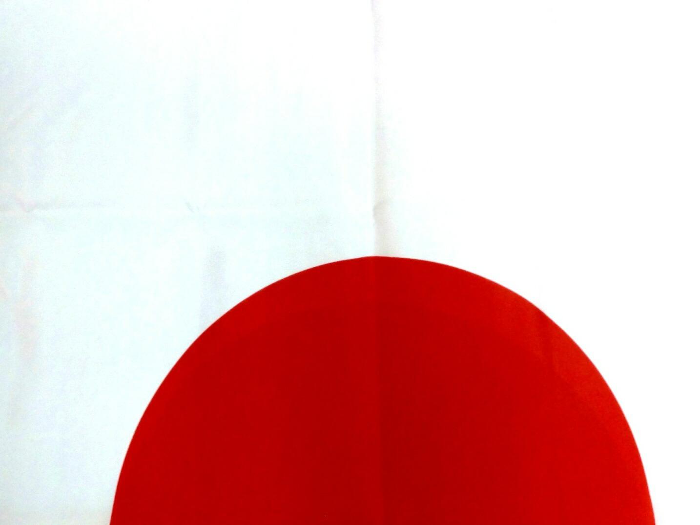 撥水加工 日本国旗