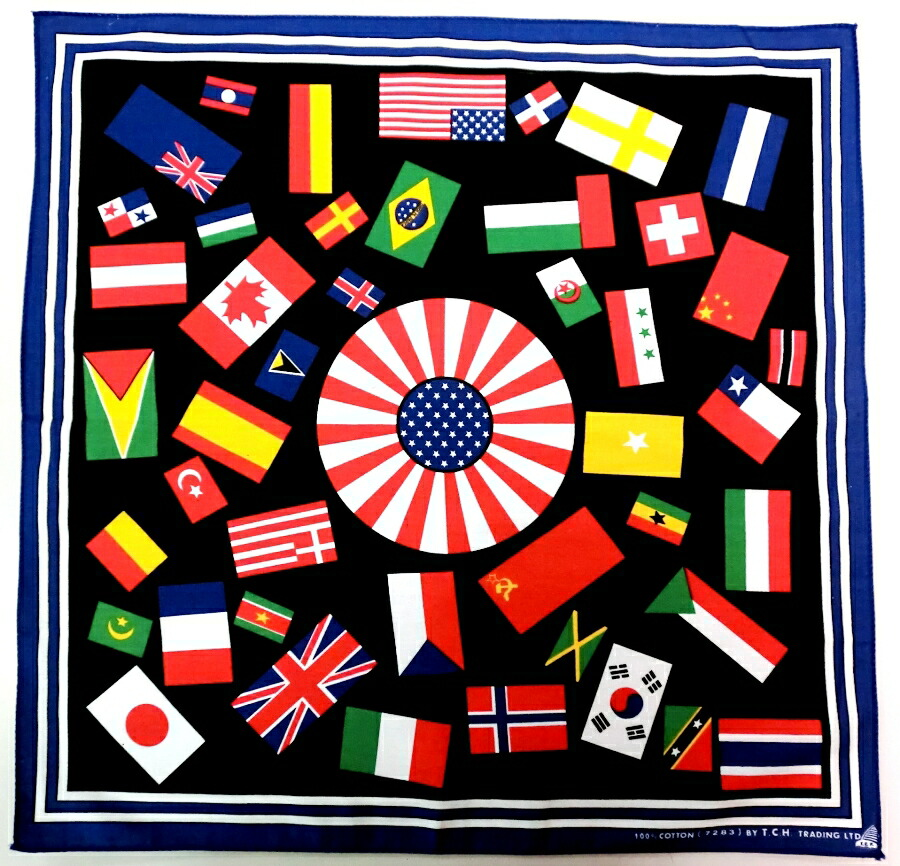 国旗バンダナ
