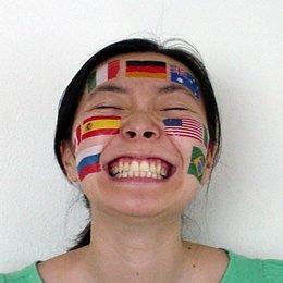 国旗フェイスシール タトゥーシール