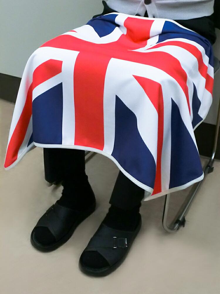 国旗柄 ひざ掛け
