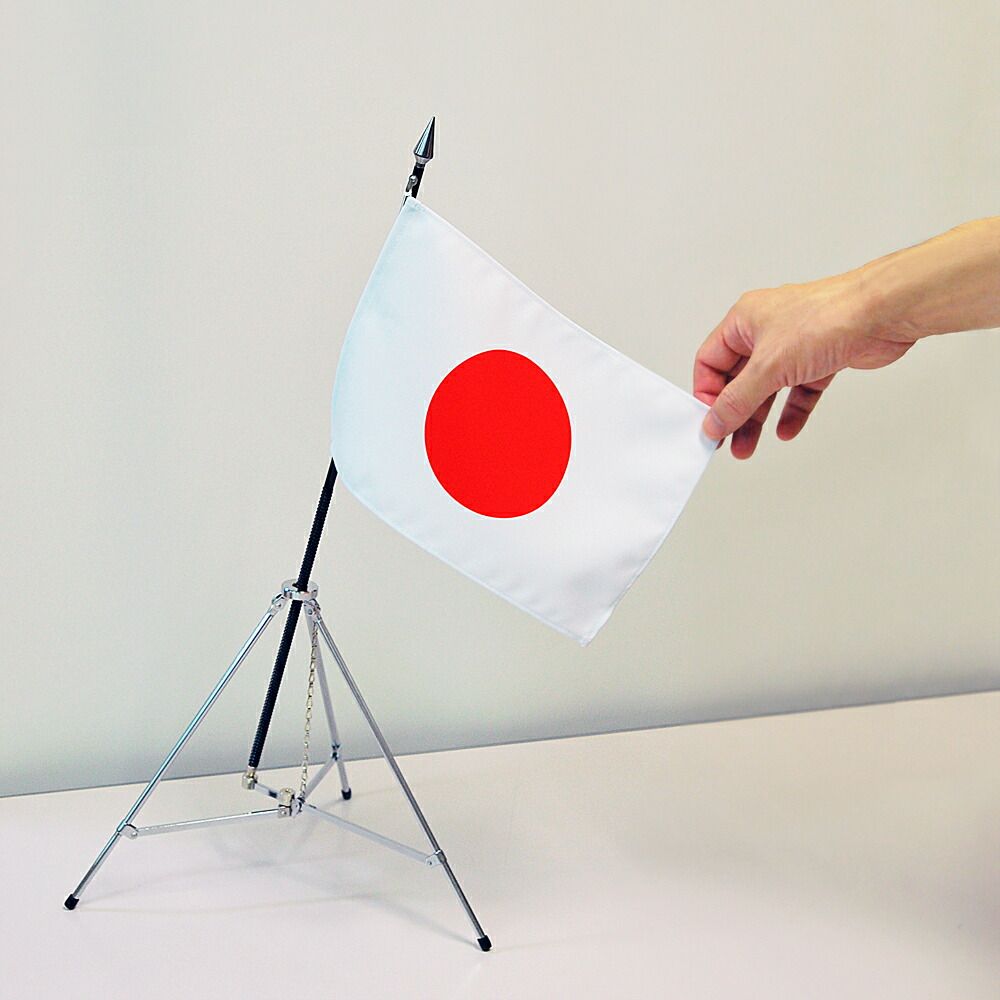 卓上国旗・ミニ三脚セット