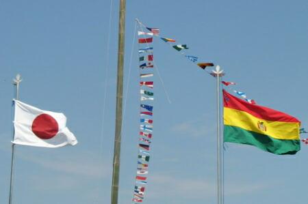 万国旗使用例 運動会