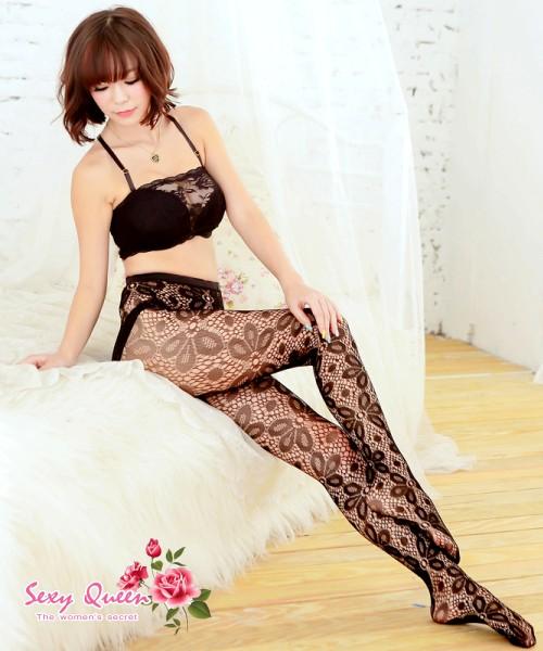 Stocking NET stockings geometric pattern tattoo stockings pantyhose ...