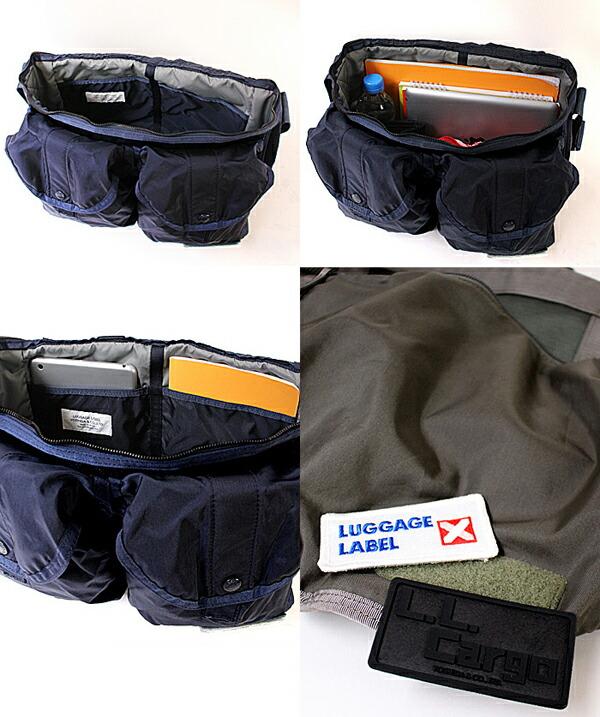 ポケットが充実し機能性を兼ね備えた吉田カバンならではのこだわり