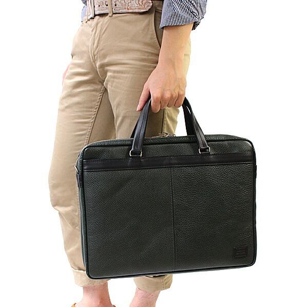 PORTER BLEND ポーター ブレンド 2WAYブリーフケースは便利なビジネスに大活躍! モデル写真2