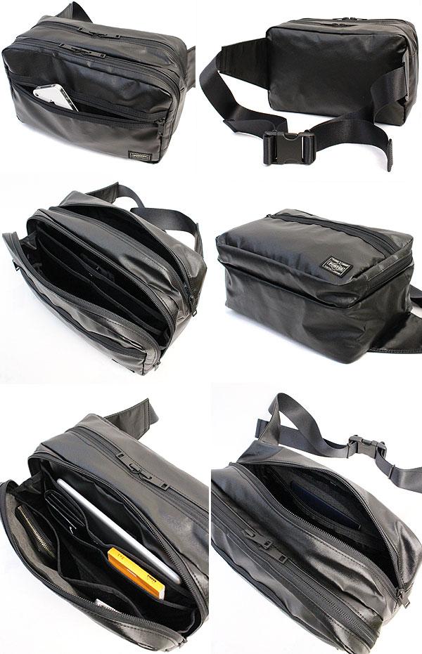 機能性に優れ使いやすいポーターのウエストバッグ