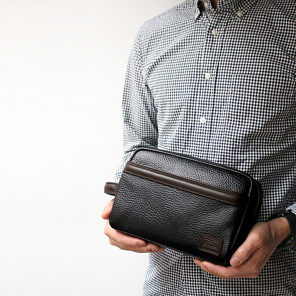 PORTER BLEND ポーター ブレンド ポーチ セカンドバッグ ビジネス 本革 モデル2