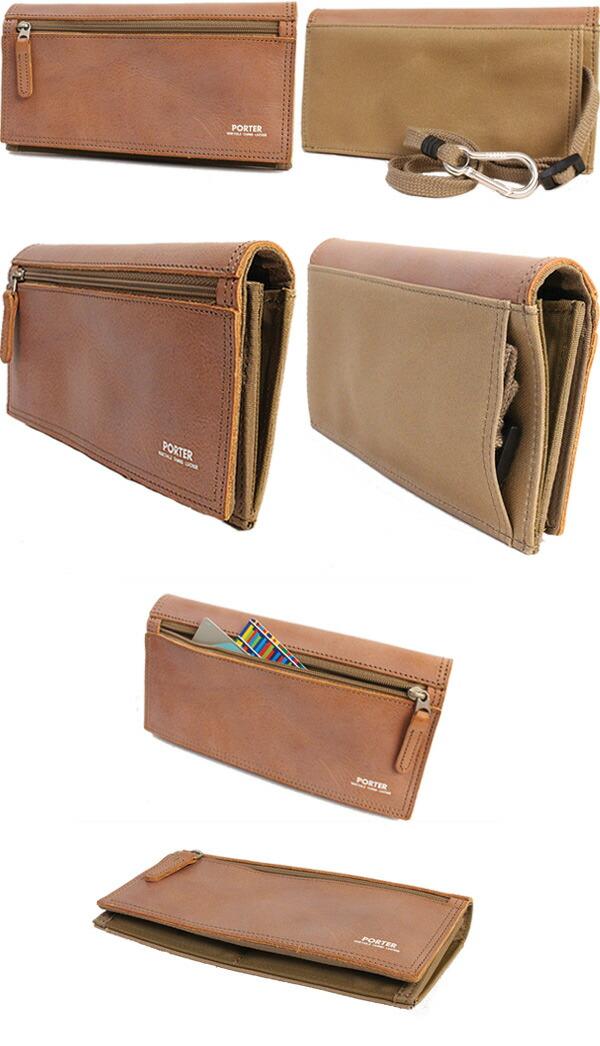 吉田カバン ポーター 長財布 財布 PORTER FIELD 収納ポケットが多い財布