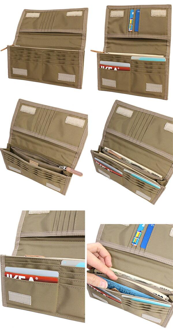 吉田カバン ポーター 長財布 財布 PORTER FIELD カラビナ付きコードが付属している長財布