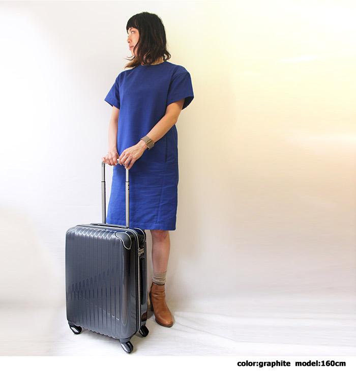 カーゴ スーツケース ファスナー式 35L リニューアル 機内持ち込み可能 モデル写真