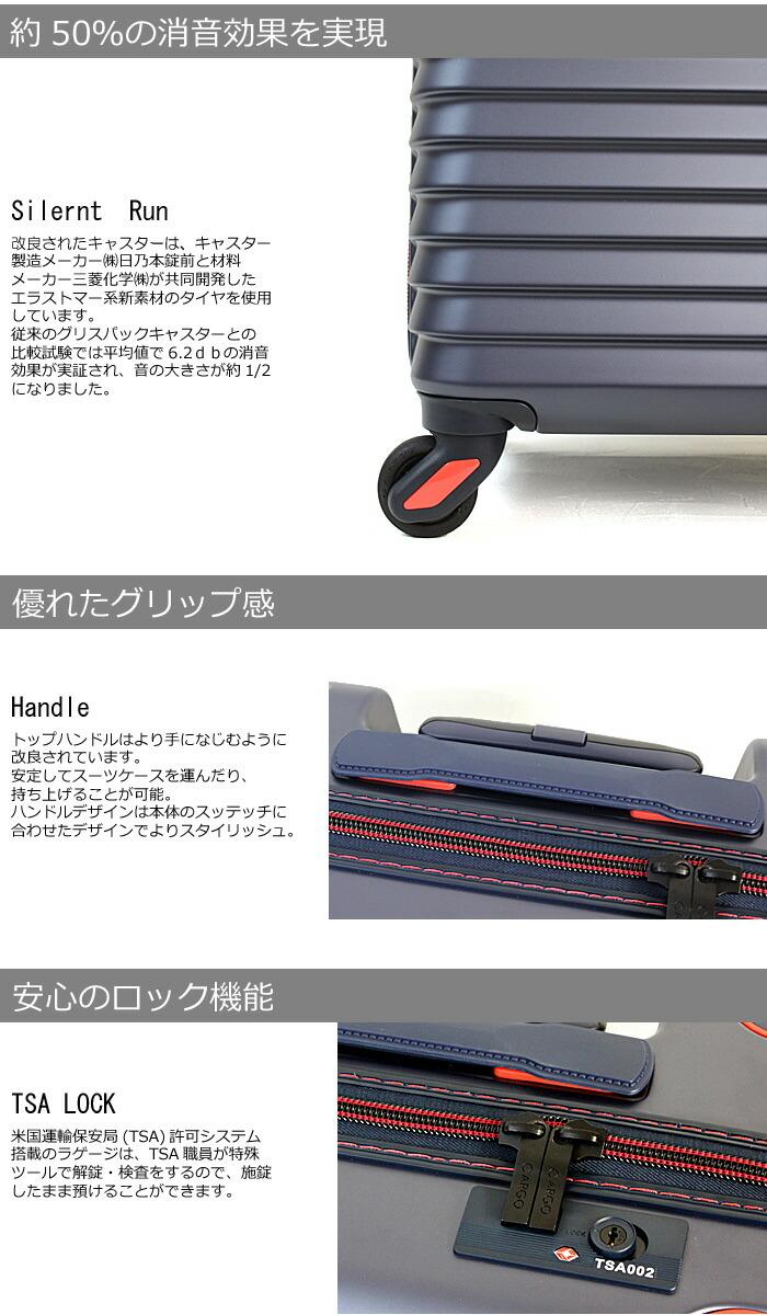 カーゴ ビジネストローリー キャリーケース スーツケース 機内持ち込み可能 28L リニューアル キャスター サイレントラン