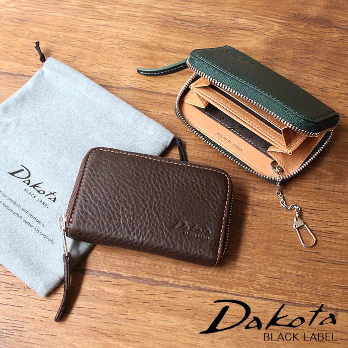 ダコタ ブラックレーベル Dakota BLACK LABEL アレキサンダー 牛革 日本製 キーケース付きパスケース 625405