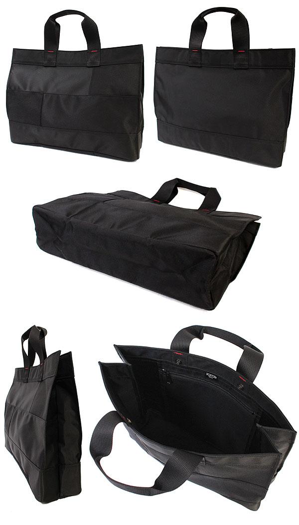 シンプルで使いやすいポーター ネットワークのトートバッグ