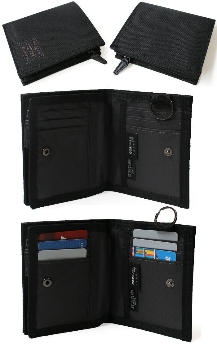ポーター ディル 二つ折財布 詳細画像