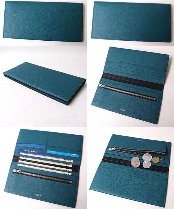 グルーの長財布は内部も充実した作り