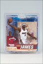 McFarlane NBA figure series 21 and LeBron James and Miami Heat