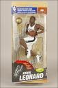 McFarlane NBA figure series 26 / Kwai-Leonard collectors level white 1000 only / Miami Heat and San Antonio Spurs