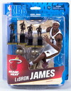 / Miami Heat with 24 McFarlane toys NBA figure skating series collector zouk love-limited / Revlon James champion trophy & MVP trophy