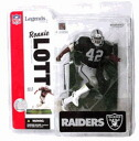 McFarlane NFL legends series 2 (legendary players series) and Ronnie lot/Oakland Raiders