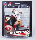 33 McFarlane toys NFL series US shops-limited white jersey / Colin Capa Nic / San Francisco 49ers